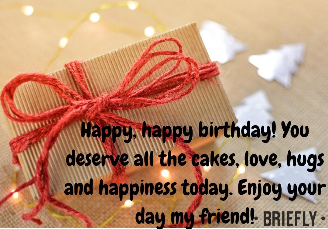 Happy birthday friend Best friend birthday wishes Happy birthday message to a friend