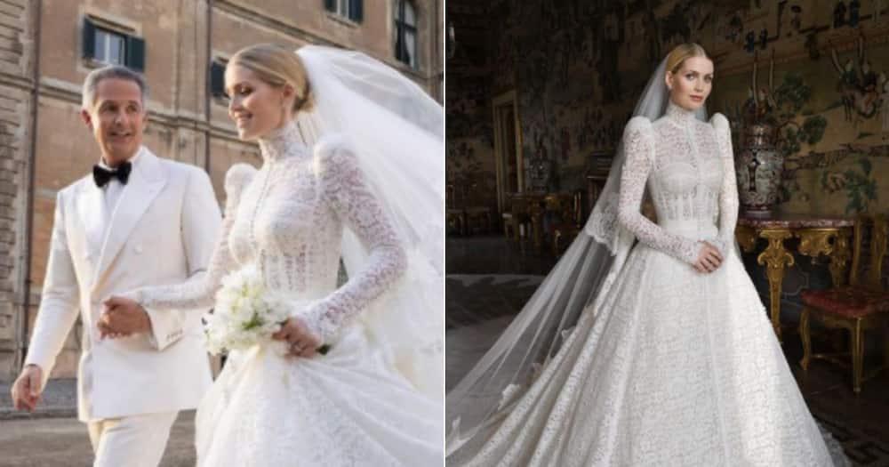 Michael Lewis, Kitty Spencer, Princess Diana's Niece, Wedding, Newlyweds, Italy