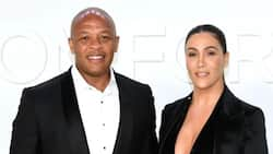 Dr Dre's estranged wife serves him court papers at grandmother's funeral