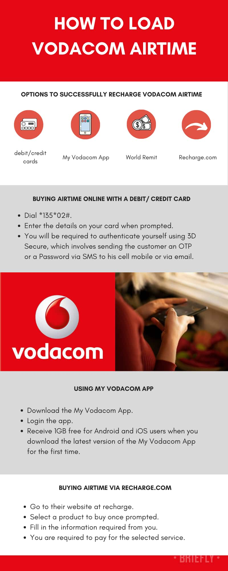 How to load Vodacom airtime