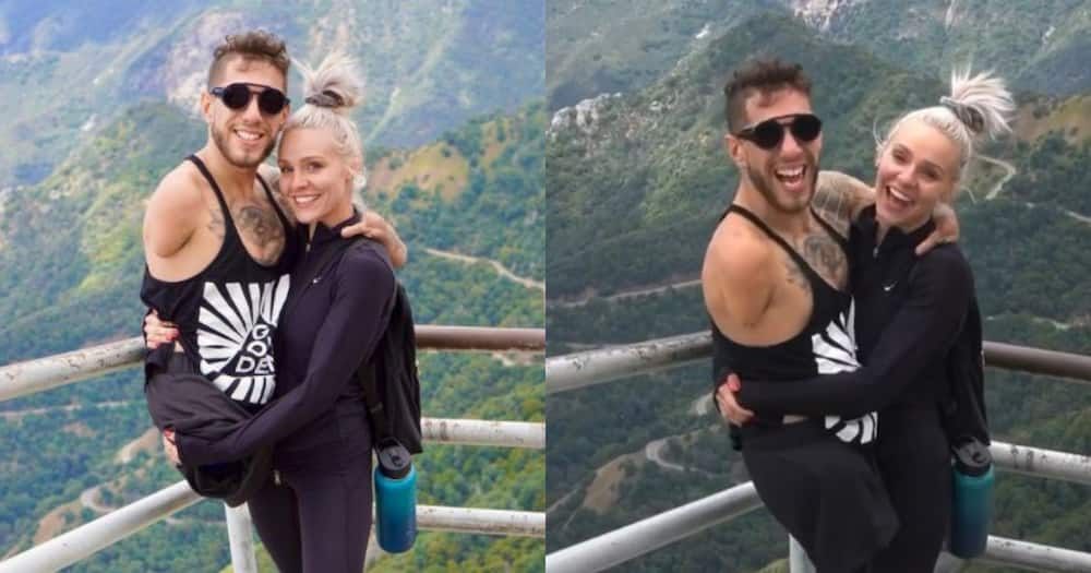 """Woman carries disabled boyfriend up mountain: """"That's so sweet"""""""
