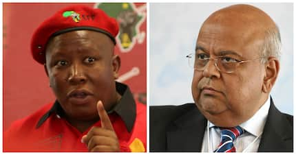 The EFF accuses Minister Pravin Gordhan of being a Gupta accomplice