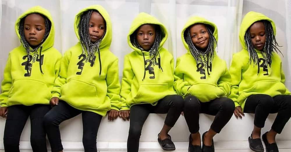 Divinar Joseph gave birth to quadruplets at the Aga Khan Hospital in Nairobi.