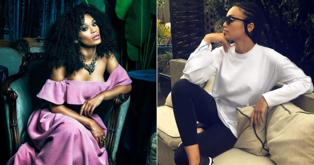 Pearl Thusi dragged once again for posting about brown skin
