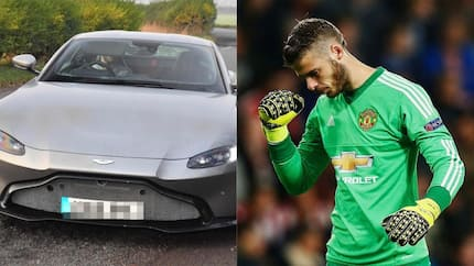 De Gea shows off new R2.1m Aston Martin ahead of Arsenal cracker