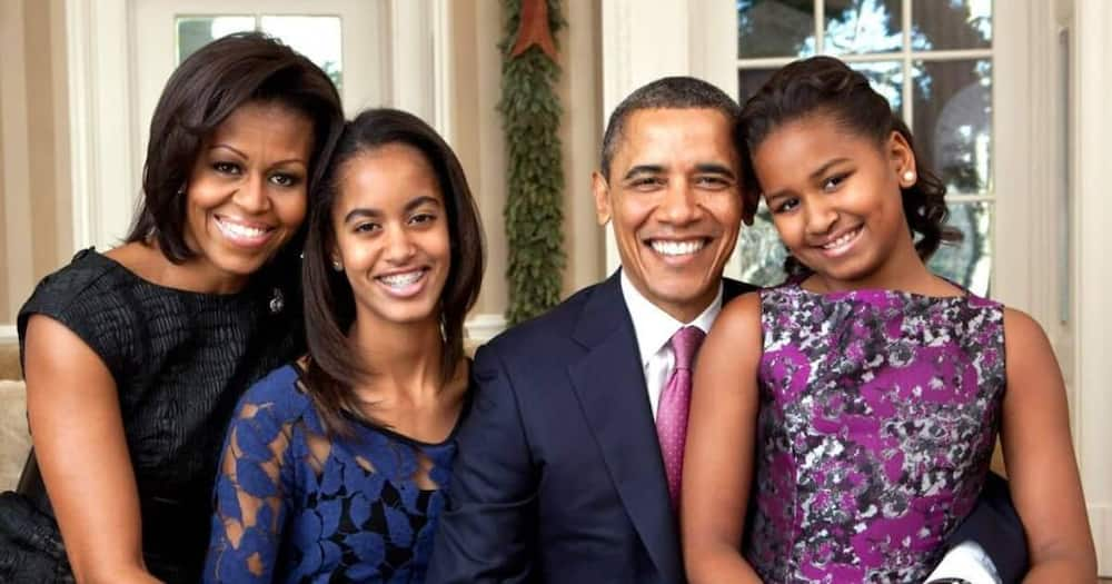 44th USA president Barack Obama and his family. Photo: Michelle Obama.