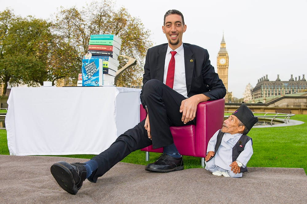 List of the tallest man in the world