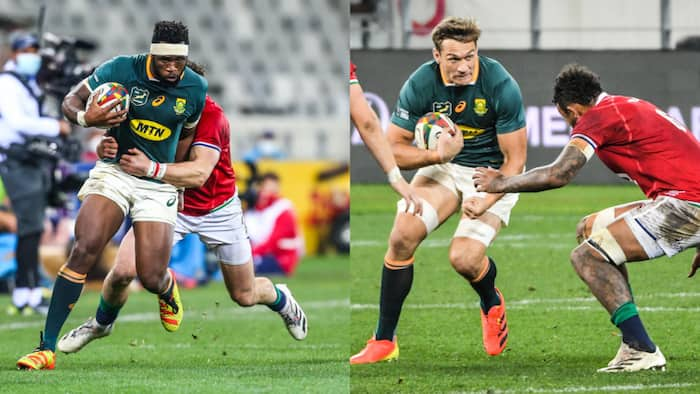 British and Irish Lions outplay the Springboks in Cape Town
