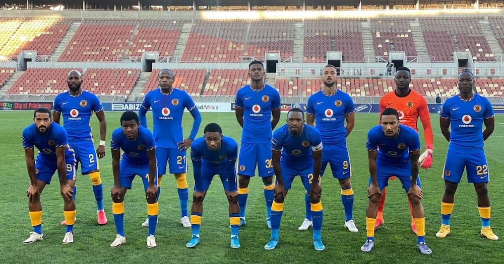 Kaizer Chiefs players are on the verge of finishing outside of the top eight bracket. Image: @KaizerChiefs/Twitter