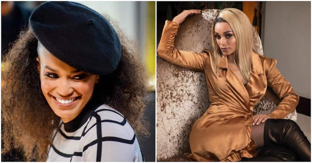 Pearl Thusi posts sweet pics of herself reading with youngest daughter