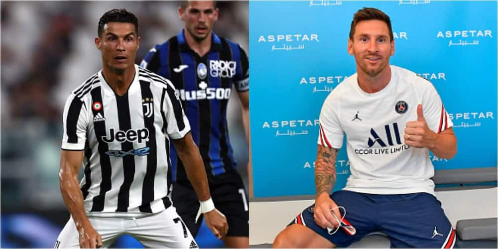 Ronaldo breaks silence on reports linking him to other clubs days after Messi joined PSG