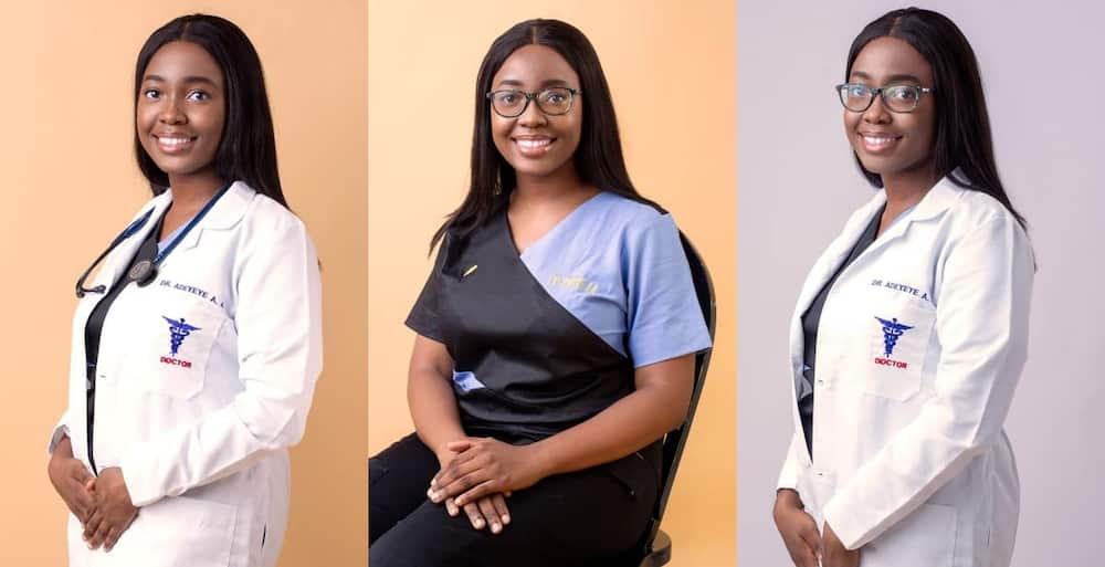 Adebisi Adeyeye, new, doctor, graduate, medical