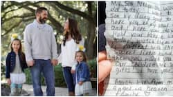 Woman goes for daughter's birthday cake, finds touching note from stranger who paid for it