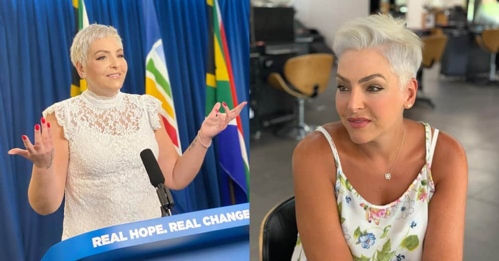 Natasha Mazzone denies she lied about her qualifications, only has matric