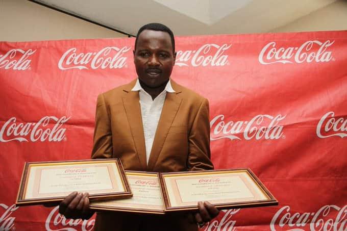 Leonard Zhakata awards
