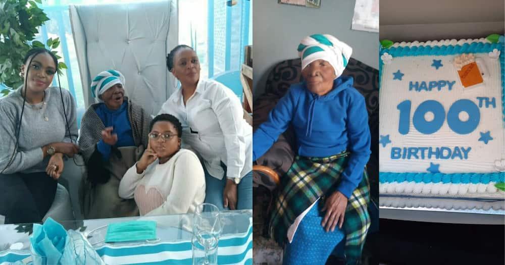 Halala: Gogo hits a century, turns 100 and Mzansi takes its hat off