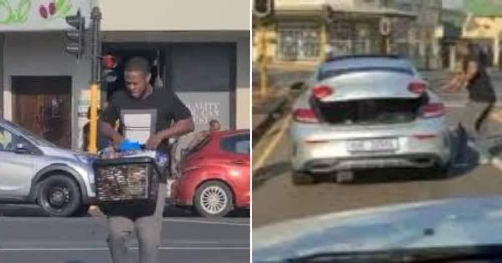 Alleged Mercedes Benz Looter. Mbuso Moloi, Woolies Looter, KwaZulu-Natal, Woolworths