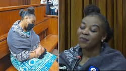 Nomia Ndlovu trends again as she returns to court spotting a new hairstyle, denies killing her sister