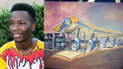 Limpopo artists scores school and living funding from petrol station