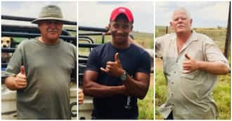 Stranded man thanks his heroes: 'I was in awe of who God is'