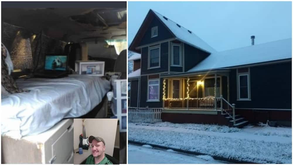 Young man moves from dirty one-room apartment to a beautiful duplex in 2 years