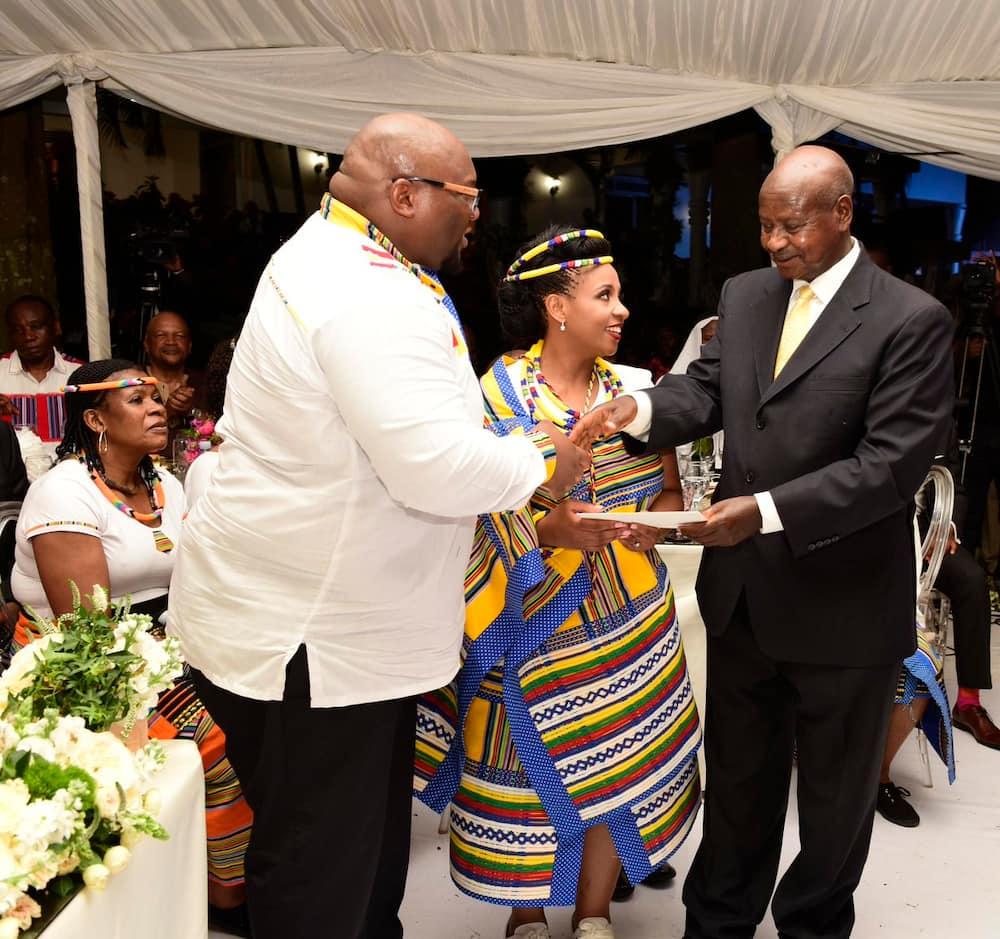 Andile Ramaphosa wedding