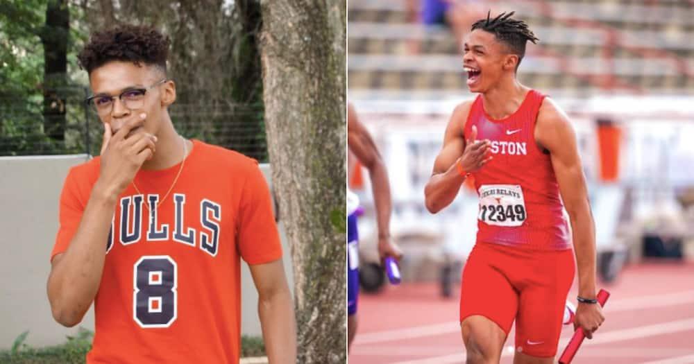 Shaun Maswanganyi, Tokyo Olympics, Briefly News, University of Houston