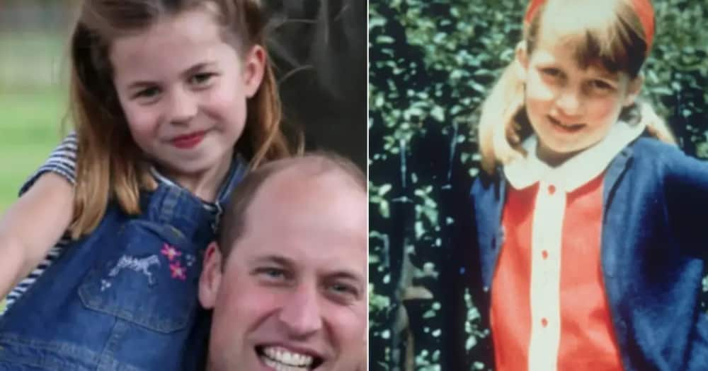 Princess Charlotte strongly resembles a young Princess Diana in photo