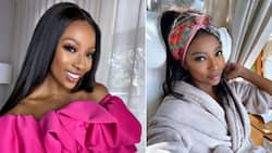 Pearl Modiadie is desperate for some time off but being a mom just doesn't allow that