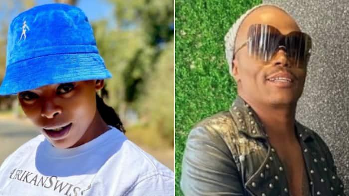 Unathi Nkayi unfriends Somizi Mhlongo following abuse allegations, ridding herself of 'negativity'