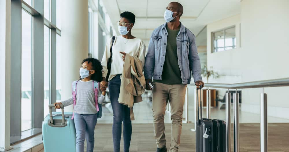 Travel ban, travel restrictions, South Africa, The US, United States of America, vaccination, fully vaccinated