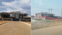 Yoh: Stunning Limpopo mansion built in a local village has Mzansi impressed