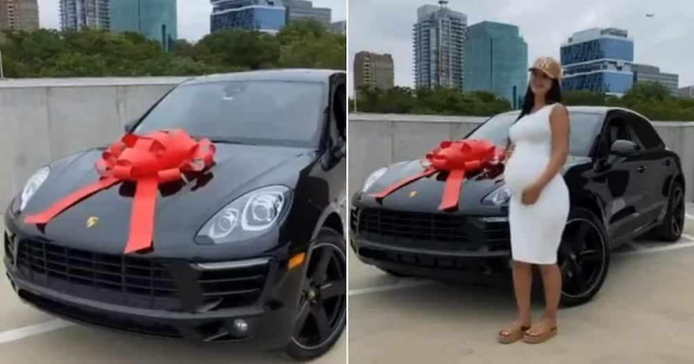 "Woman shows off lavish push present: ""Daddy got me a mommy SUV"""