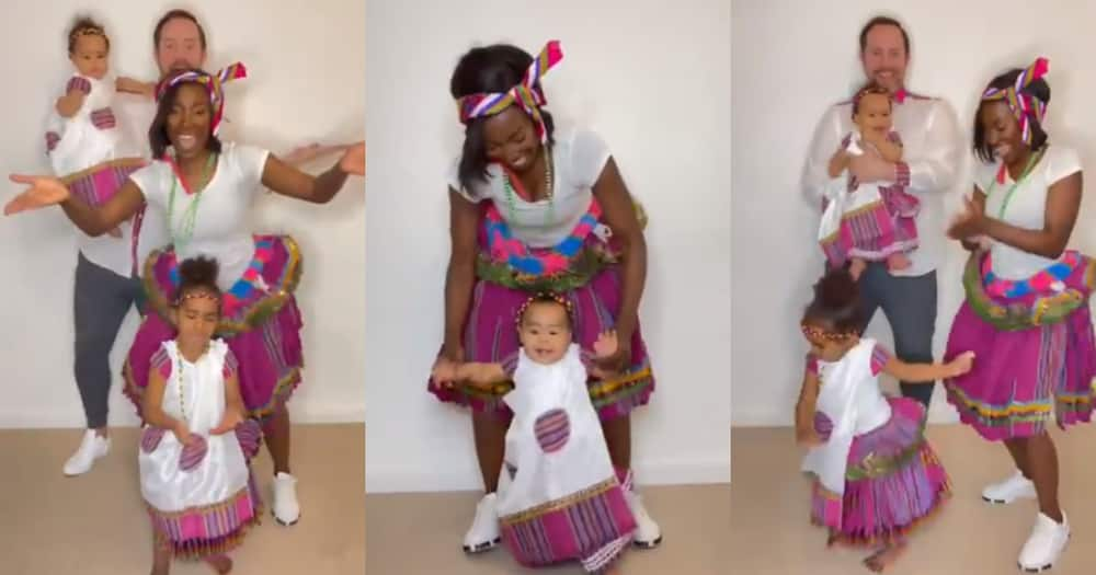 Clip of Fit Mom Takkies and Her Little Family Dancing Is a Whole Vibe