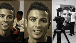 """""""It's so real"""": Massive reactions as artist spends 75 hours drawing cute portrait of Cristiano Ronaldo"""