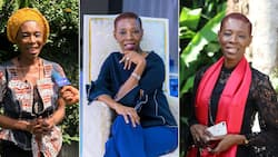 Proudly African: Caroline Sack Kendem shows the male-dominated textile industry who's boss