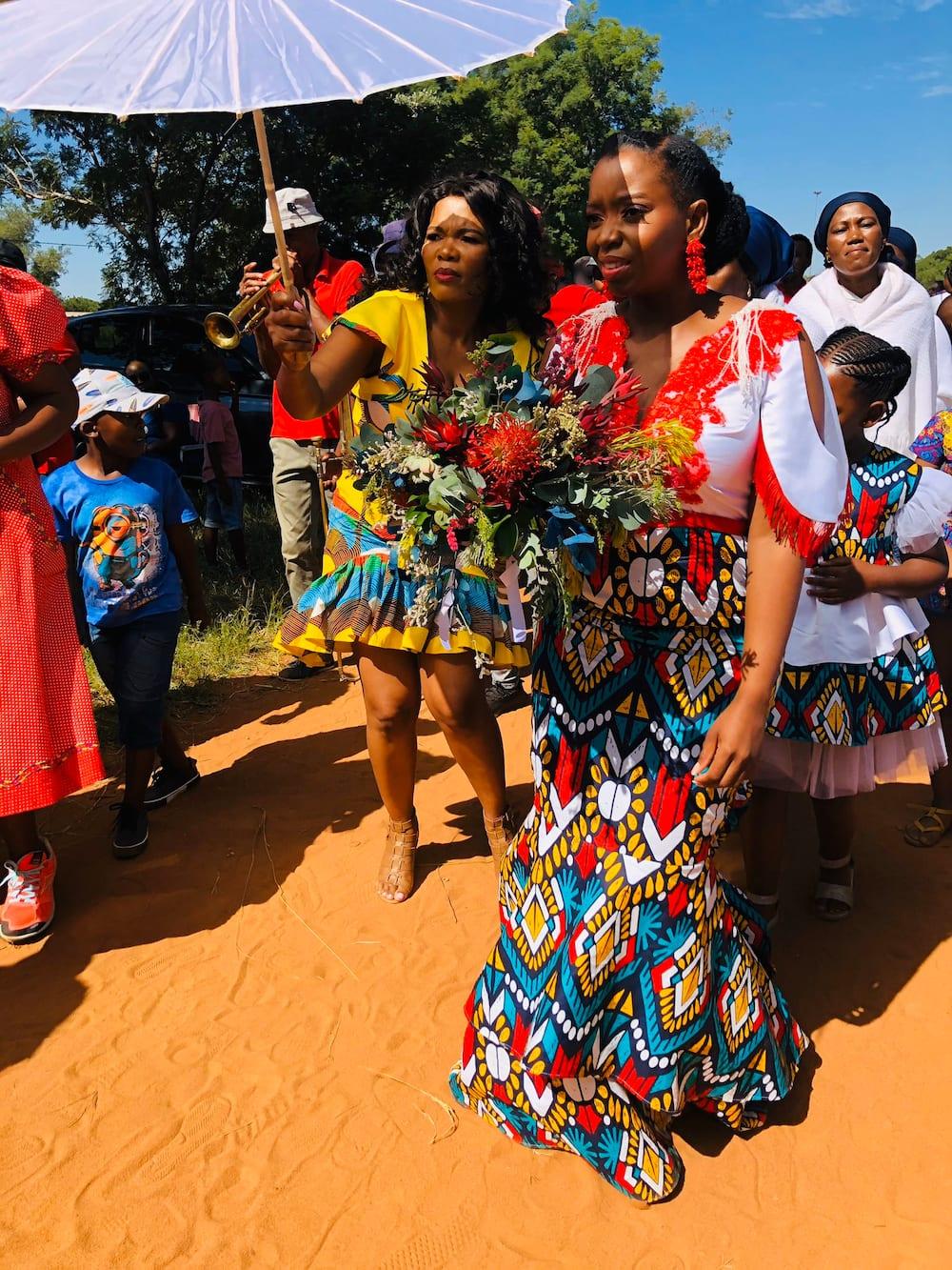 Shona traditional wedding dress Zimbabwe