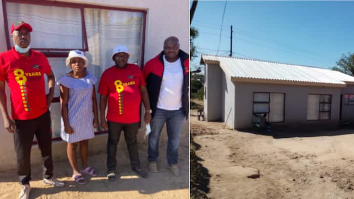 EFF gifts deserving family a home, SA shows appreciation: #EFFTurns8