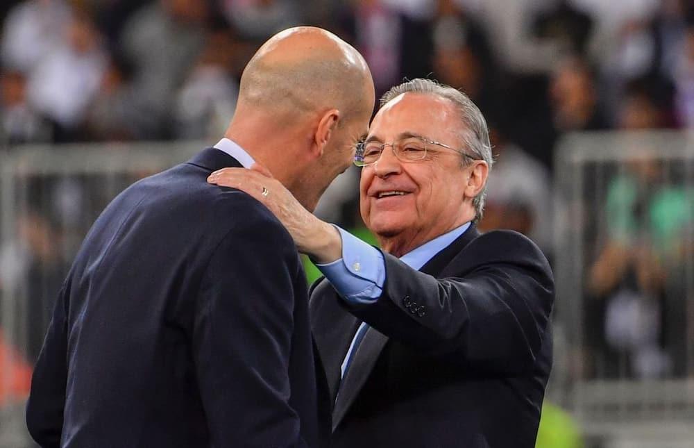 Real Madrid profile president