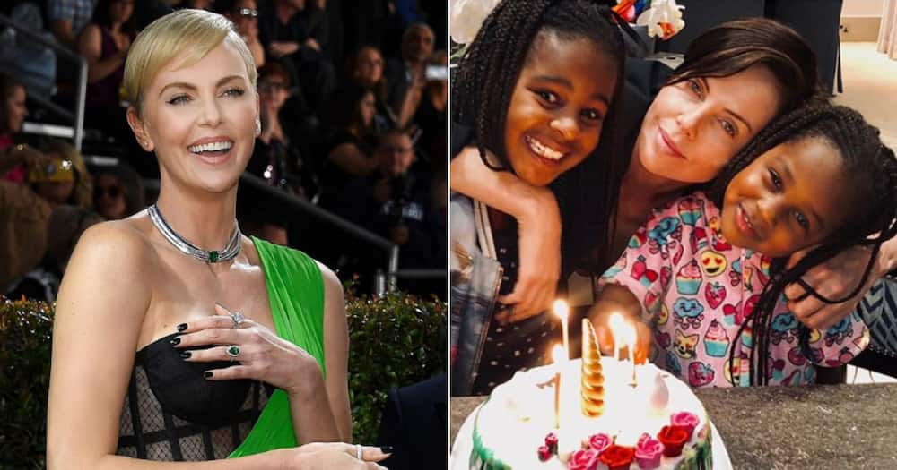Charlize Theron shares rare and special moment with her daughter