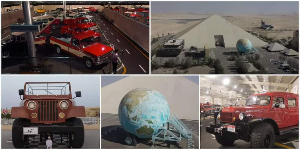 Meet Man Who Owns 3000 Unusual Cars, Says it Took Him 50 Years to Gather, one Has 3 Bedrooms in It