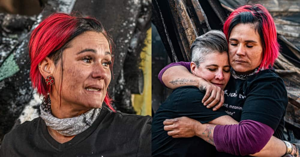 Rising from the ashes: Determined South Africans discover inspiration in destruction