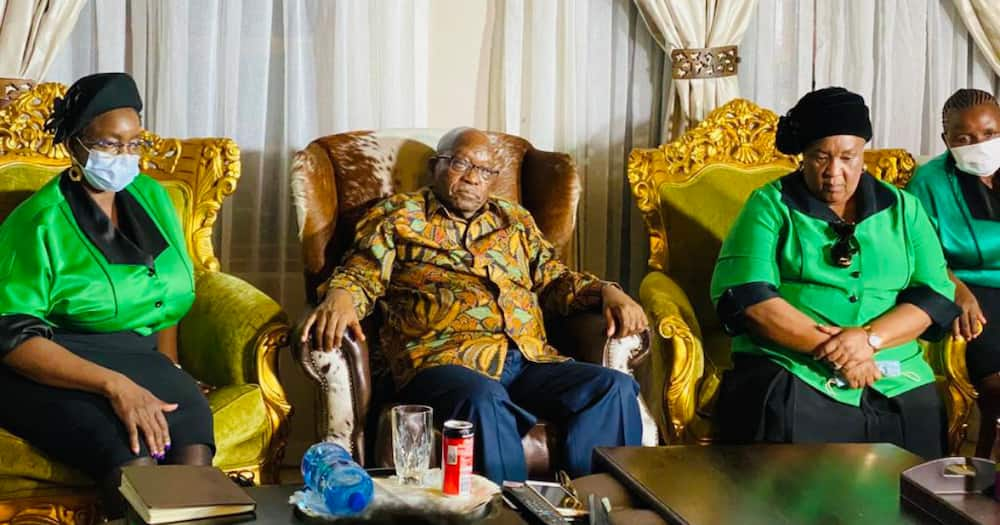 Zuma hosts another tea party at Nkandla with the ANC Women's League