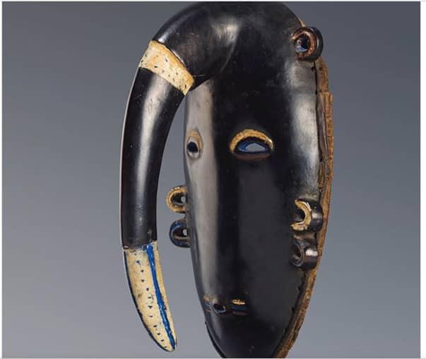 African tribal masks Ligbi