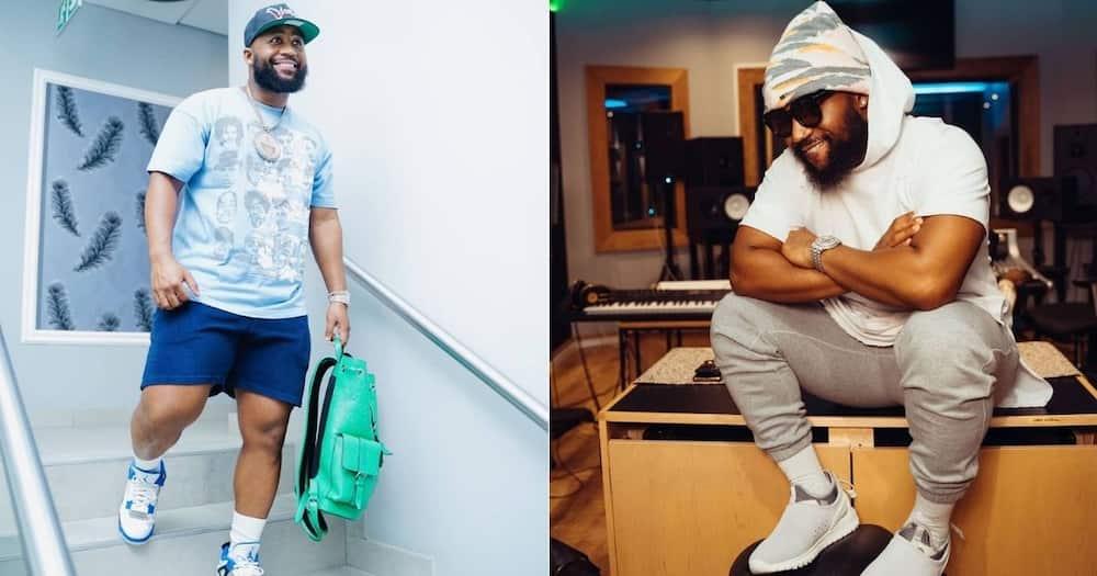 Cassper Nyovest's fans roast his weight: 'Amademoni' rapper unbothered