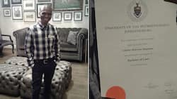 Man motivates South Africa after graduating with law degree from Wits University
