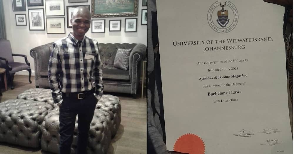 Man, South Africa, Law, Degree, Wits University