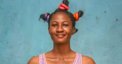 Touching story of Adenike, amputee student chasing her dreams