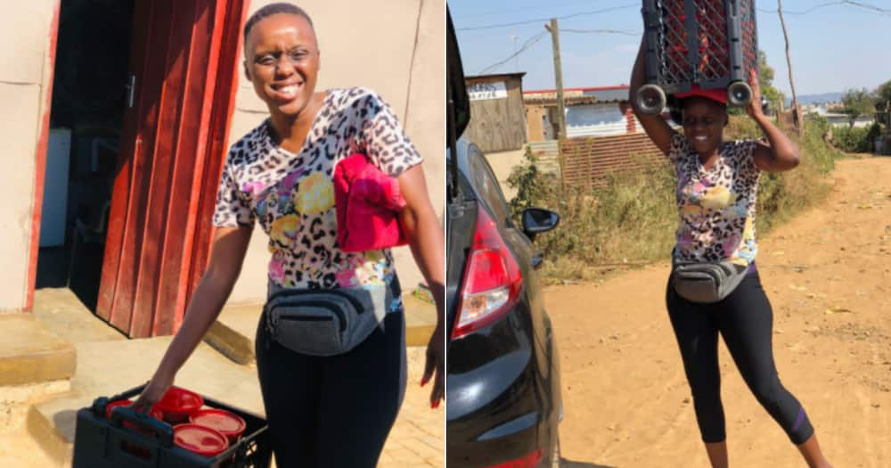 """""""I Can Stop Carrying Things"""": Tshwane Woman Inspires Mzansi With Her First Car Purchase"""