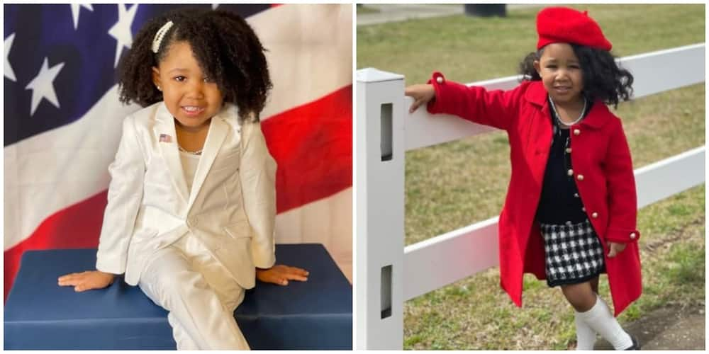 4-year-old Girl Who Recreated Michell Obama's Inauguration Look Does Same with Beyonce's New Collection